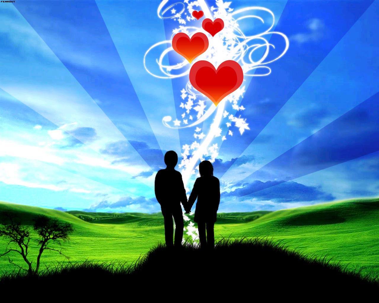 Una dedicación de Amor.  Wallpaper HD