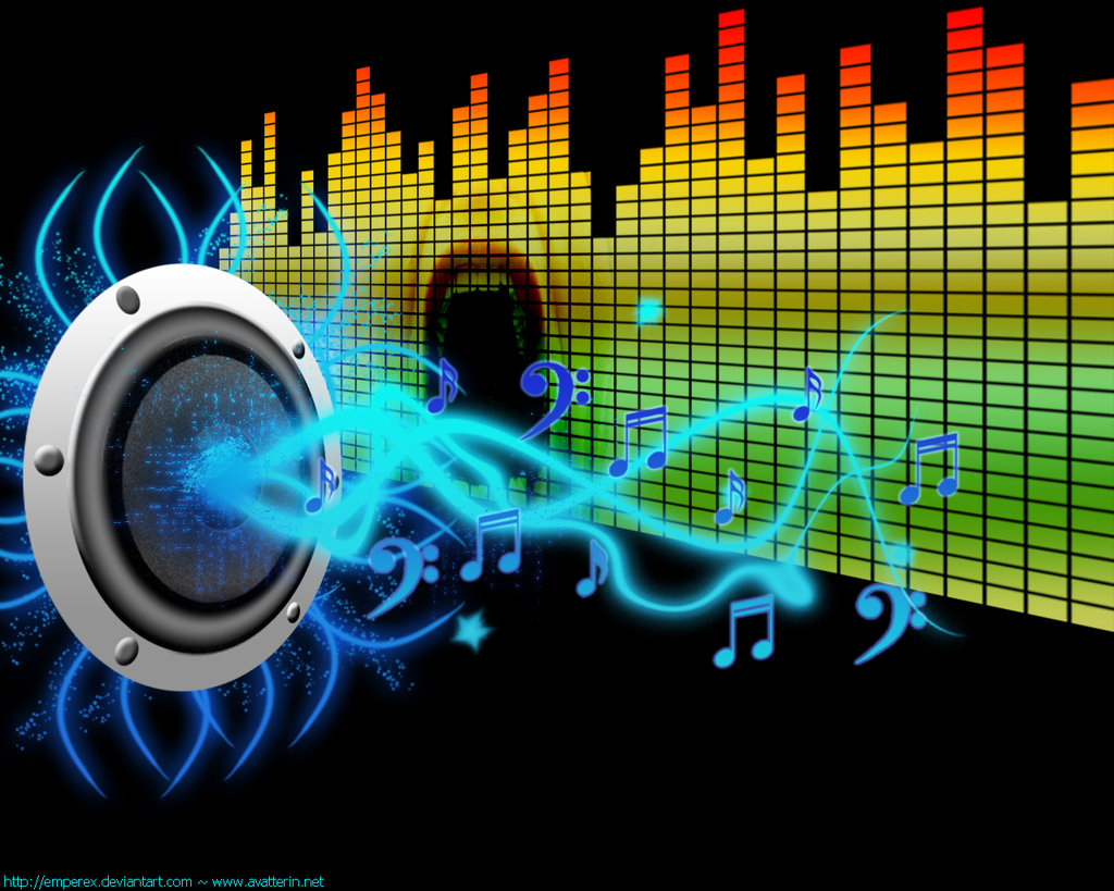 Download Free 3d Music Equalizer Wallpapers Hd: Walpaper Con Motivos Musicales