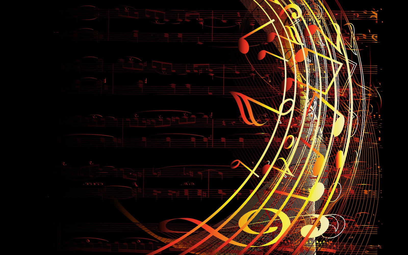 Music Backgrounds Music Desktop Background Free Premium: Imagen Gratis De Partitura Con Notas Musicales, En HD