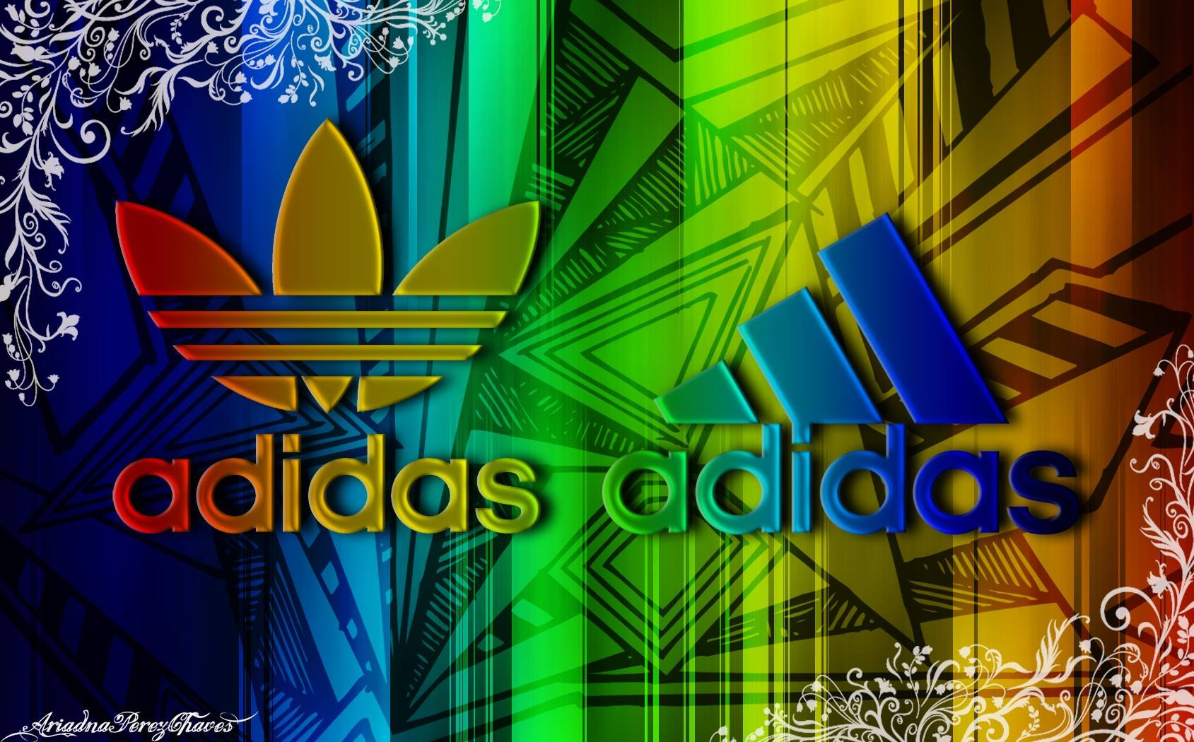wallpaper logos adidas