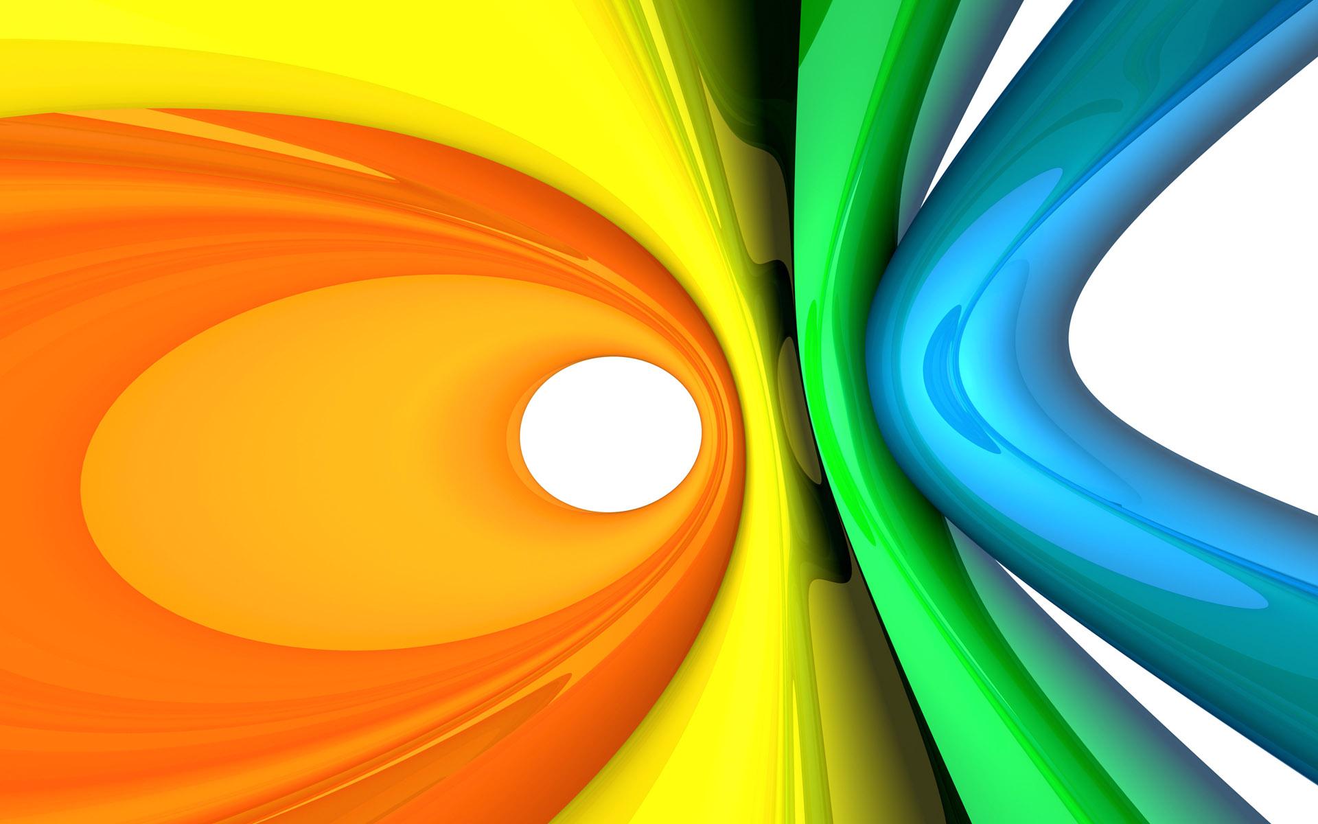 Foto abstracta en naranja y amarillo - Amarillo naranja ...