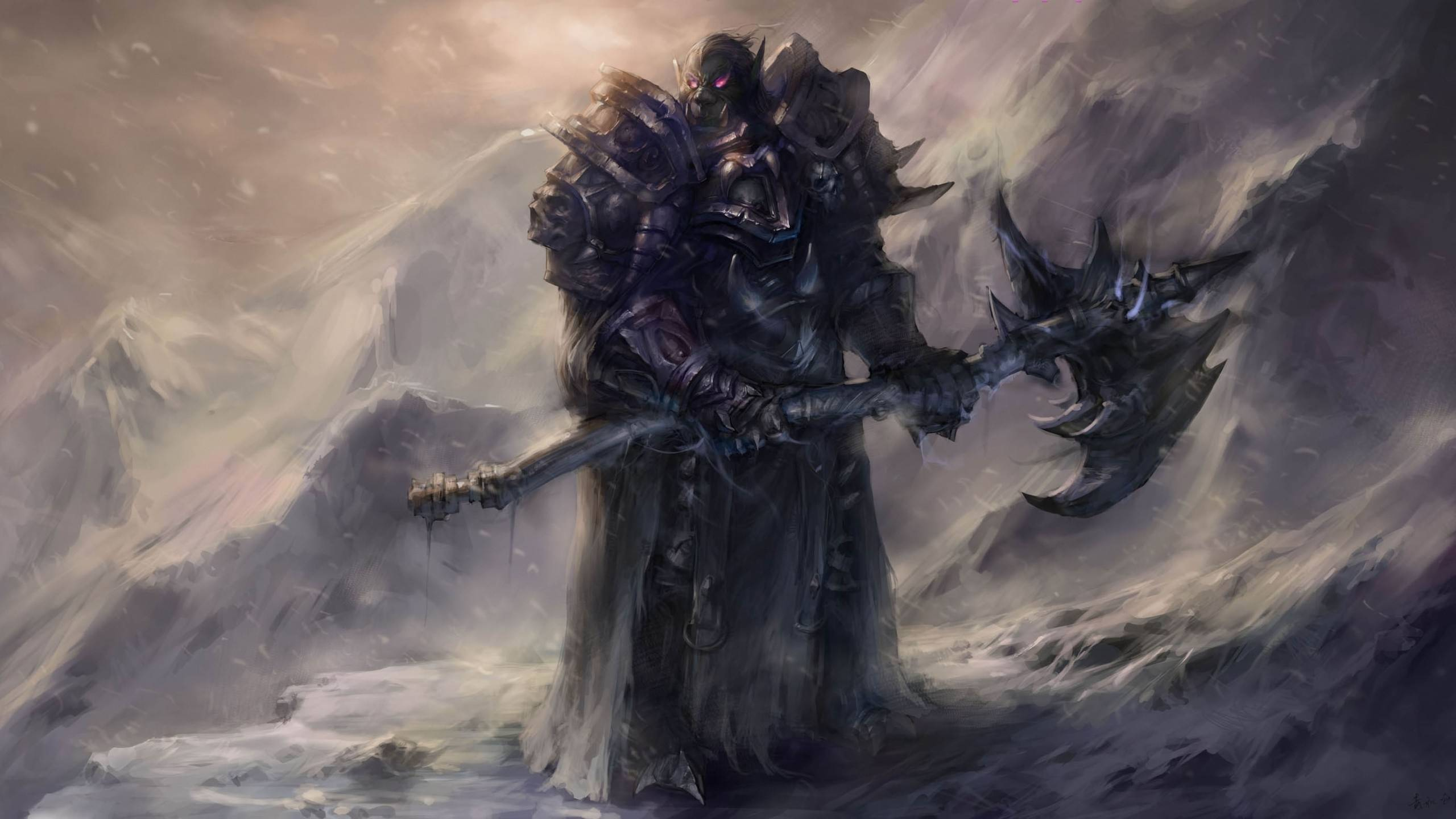 Imagen De Orco De La Saga De World Of Warcraft