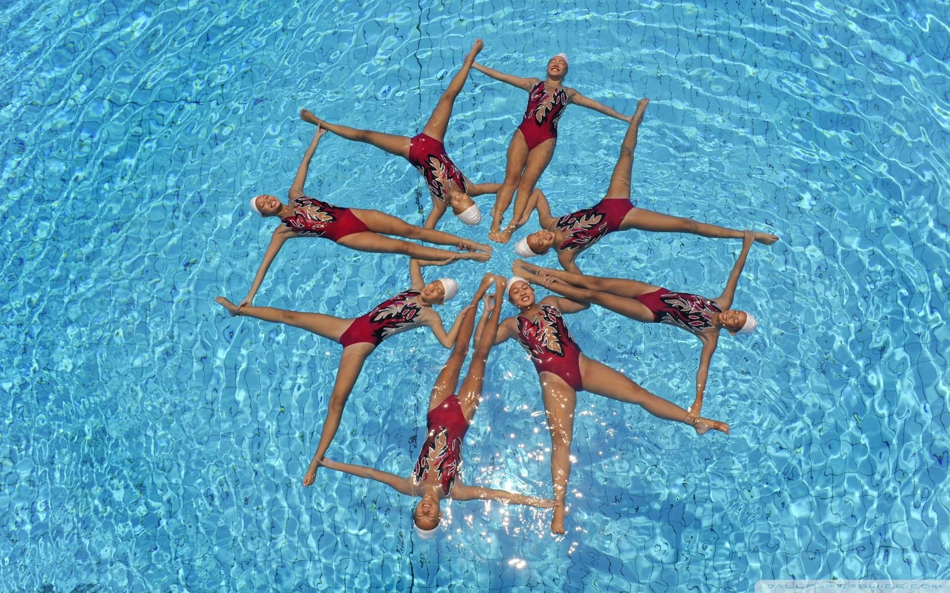 Resultado de imagen de natacion sincronizada  fotos hd