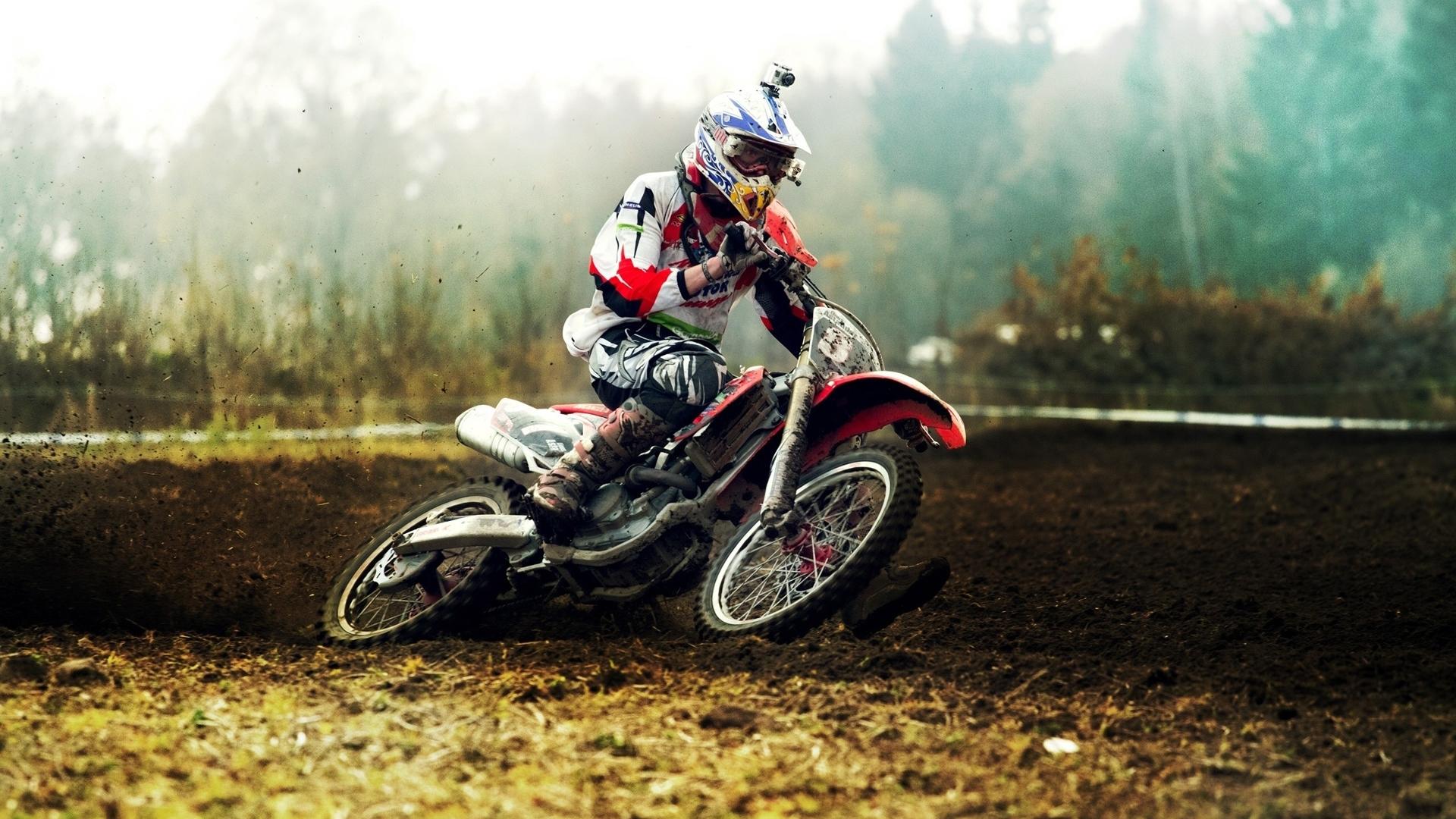 Imagen Gratuita De Moto En Carrera De Motocross, En HD