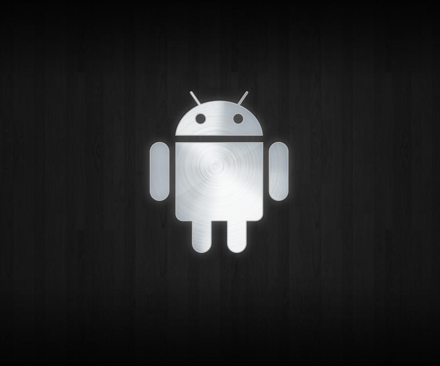 Imagen Gratis Con El Logo De Android, En Fondo Negro, En HD
