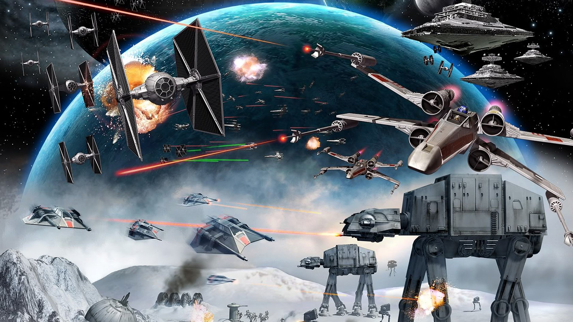 10 New Star Wars Clone Army Wallpaper Full Hd 1080p For Pc: Wallpaper Star Wars Millenium