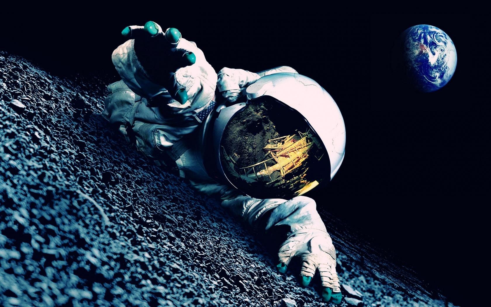 Wallpaper Astronauta perdido en el espacio