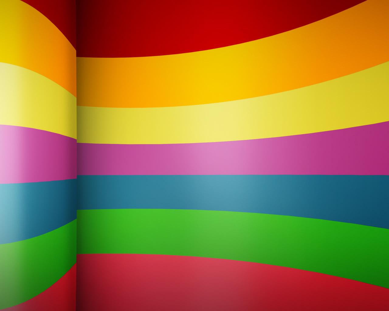 Fondo De Lineas De Colores Para Utilizar Como Wallpaper