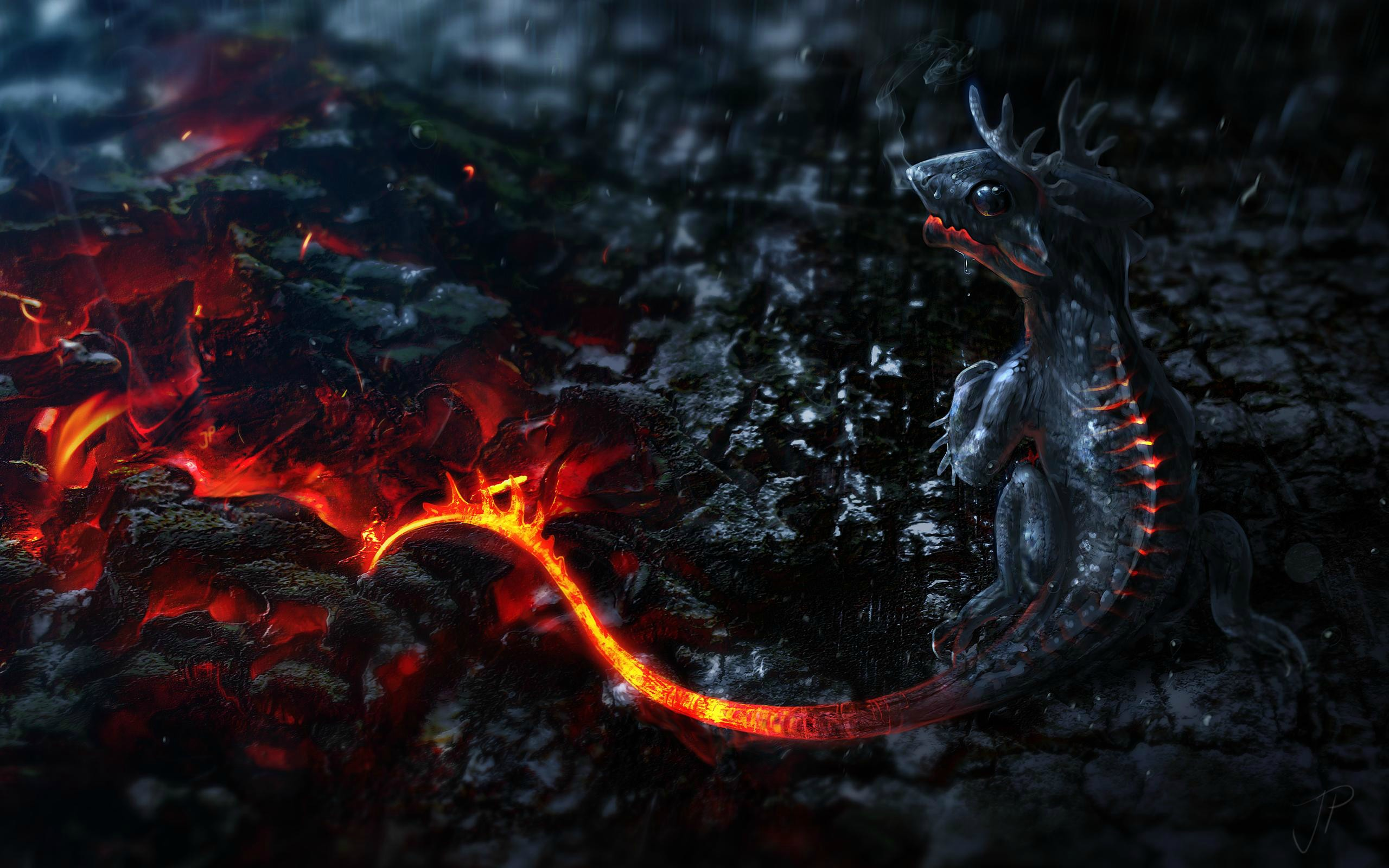 Wallpaper de dragones