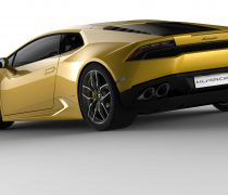 2015 Lamborghini Huracan LP 610 4 Rear Wallpaper