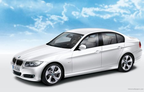 Elegante BMW 320D Edición limitada Fotos HD Wallpaper