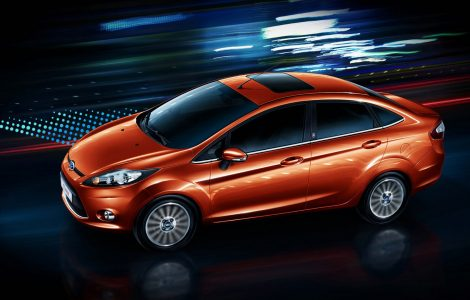 Ford Fiesta Sedan Wallpaper
