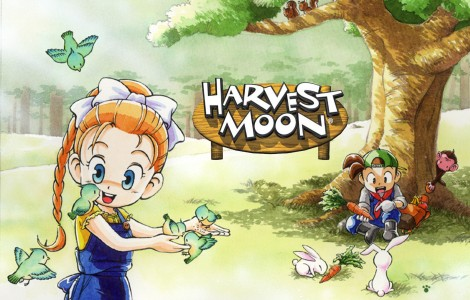 Harvest Moon Wallpaper