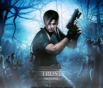 Leon Kennedy Resident Evil 4 Wallpaper Background