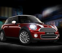 Mini Cooper rojo S 2013 Wallpaper Widescreen