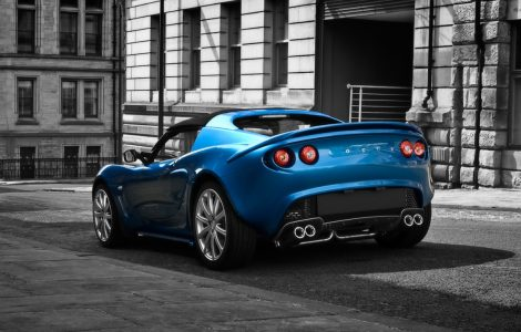 Lotus color azul