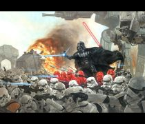 Batalla Star Wars Wallpaper