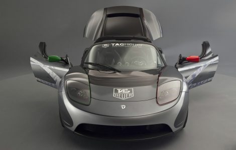 Wallpaper Tag Heuer Tesla Roadster
