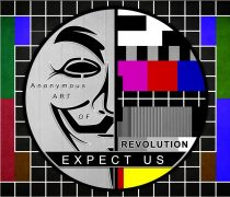 Wallpaper Anonymous expect us