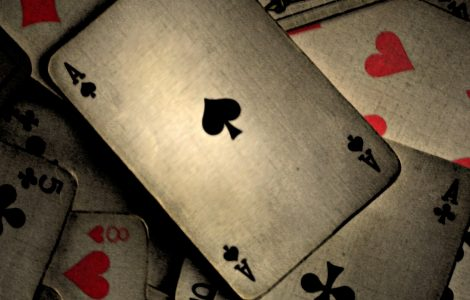 Wallpaper Carta de Poker