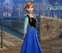 Wallpaper Anna de Frozen