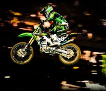 Wallpaper Motorcross Energy Monster