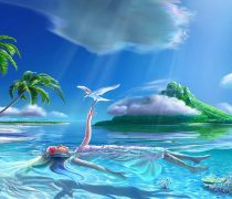 Paisajes de Islas, Wallpaper Tropical