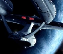 Wallpaper HD Star Trek, Spaceship