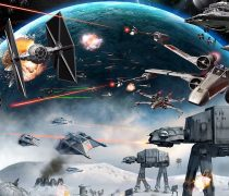 Wallpaper Star Wars Millenium