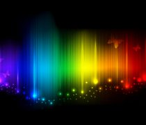 Wallpaper de colores. Arco Iris Multicolor