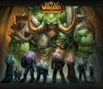 Cartel anunciador de una de las sagas del juego World Of Warcraft.