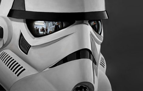 Wallpaper Star Wars. Casco de Stormtroopers.