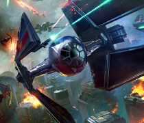 Wallpapers Guerra de naves Star Wars