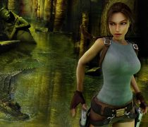 Lara Croft en Tomb Raider Wallpaper en HD